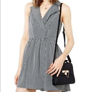 Nasty Gal Gingham Dress, size Small